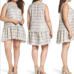 NWT Elvi Drop Waist Boucle Dress, size 16 (20 UK)
